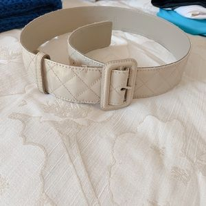 Burberry Thick Quilted Belt